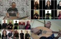 KKTC'de öğretmenler şehit meslektaşları Aybüke'yi Mağusa Limanı eseriyle andı