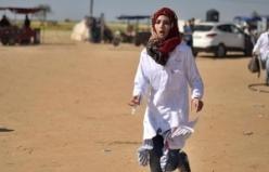 Gazze'nin 'yardım meleği Rezzan' İsrailli keskin nişancıların hedefi oldu