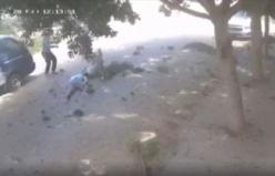 Hafter milislerinin Trablus'ta sivilleri öldürdüğü saldırılar güvenlik kameralarınca kaydedildi
