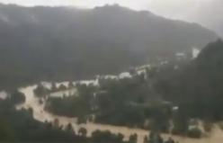 Ordu Ünye'de sel baskınları