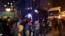 Çekmeköy'de askeri helikopter siteye düştü