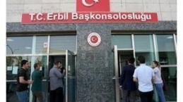 Erbil Başkonsolos çalışanlarına suikastin ilk görüntüleri