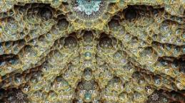 İran'ın hipnotize edici camii tavanları