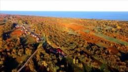 Kuş Cenneti'nde sonbahar manzaraları....