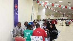 TİKA Cibutili mazlumları Ramazan'da yalnız bırakmıyor