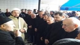 TGTV başkanı Hamza Akbulut'un babasının cenaze töreni