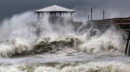 Florence kasırgasının yıkıcı etkisi