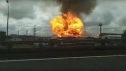 Moskova'da, bir santralde patlama meydana geldi