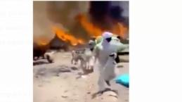 Sudan'da darbeci Hemeti'nin özel kuvvetleri Delij köyünü yakıp yıktı