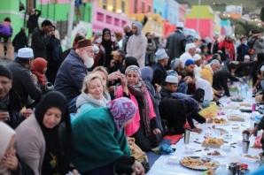 Güney Afrika'da Müslümanların rengarenk evleri ile ünlü Bo-Kaap şehri