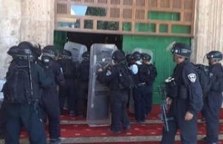 İşgalcilerin Mescid-i Aksa saldırısına tepki