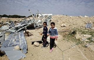 İsrail Doğu Kudüs'te Bedevilerin kreşini...