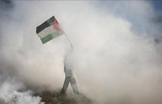 İsrail yönetiminden Gazze'ye saldırı, 2 Filistinli...