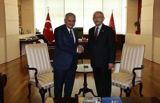 Kılıçdaroğlu ve heyeti TBMM'yi ziyaret etti