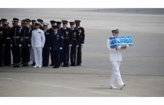 Kuzey Kore 55 cenazeyi ABD'ye verdi