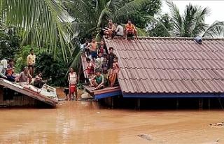 Laos'ta çöken barajda 24 ölü, onlarcası...