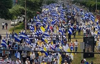 Nikaragua'da Katolik Kilisesi'ne destek...