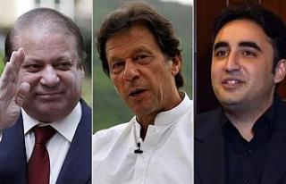 Pakistan seçimlerinde üç liderin sert rekabeti