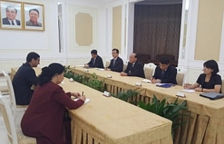 Türkmenistan'dan Kuzey Kore'ye ziyaret
