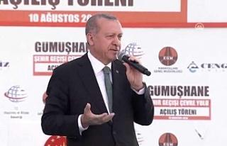 Erdoğan'dan ABD'ye: Bu millete kabadaylık...
