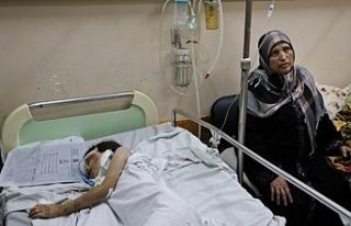 Gazze'de yüzlerce kanser hastası büyük tehlike...