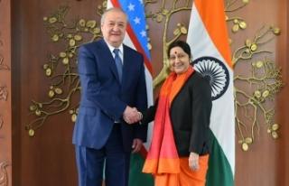 Hindistan Dışişleri Bakanı'ndan Özbekistan'a...