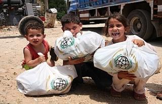 İHH tahliye edilen Suriyeliler'i unutmadı