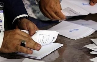 Irak'ta elle yapılan oy sayımının sonuçları...