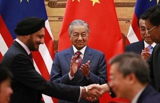 Mahathir enerji boru hattı için Çin'de