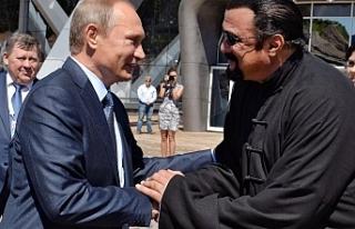 Putin ABD ile arasını Steven Segal'e düzelttirecek