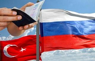 Rusya'dan Türk vatandaşlarına yönelik vize...