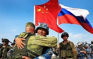 Rusya ve Çin 300 bin askerle tatbikat yapacak