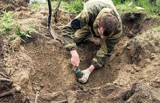 Rusya'da Türk askerlerine ait mezarlar bulundu