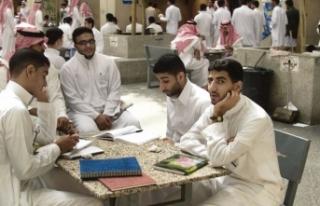 Suudi öğrencilerden İsrailli öğrencilere soğuk...