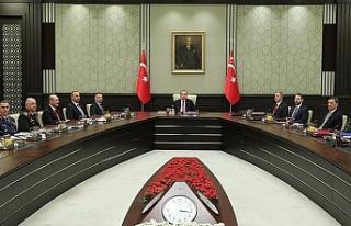 Yeni hükümetin ilk YAŞ toplantısı bitti