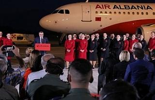 Arnavutluk'ta ilk havayolu şirketine kavuşma...