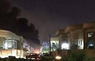 Bağdat'ta 'Yeşil Bölge'ye roketli...