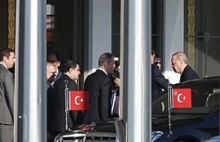 Erdoğan Bakü'ye gitti