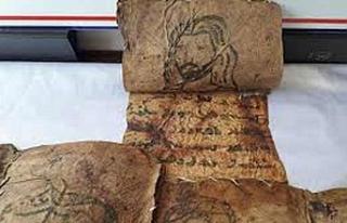 Hakkari'de tarihi İncil ele geçirildi