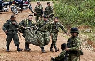 Kolombiya'da FARC muhaliflerine operasyon