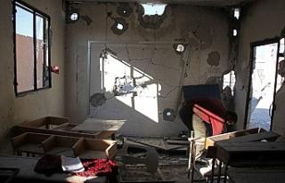 Rejim güçleri okulu vurdu