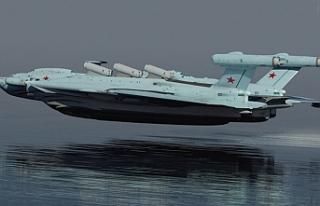Ruslar füzeli 'ekranoplan' geliştirmek...