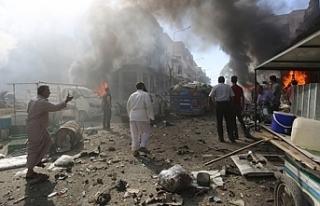 Rusya ve Esed İdlib'i varil bombasıyla vurdu