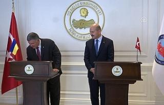 Bakan Soylu, Ukrayna İçişleri Bakanı ile buluştu