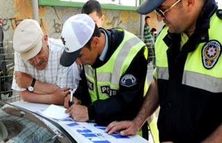 Trafik cezalarına 'on line' sistem