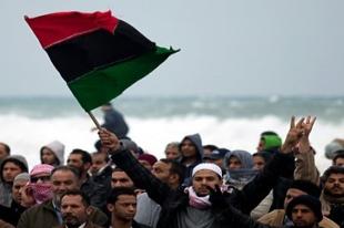 Muhaliflerin elindeki Libya'dan kareler