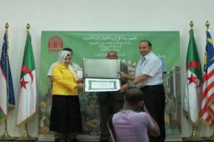 Cezayir'den Türk müzehhiplere ödül