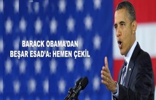 ABD'den Esad'a 'hemen çekil' çağrısı