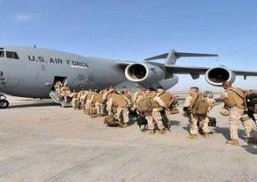 ABD askerleri giderken de problem!