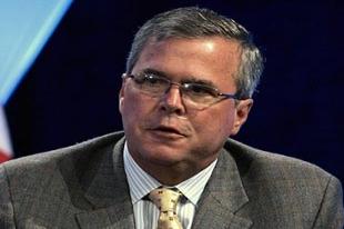 Kardeş Bush'un adayı Romney